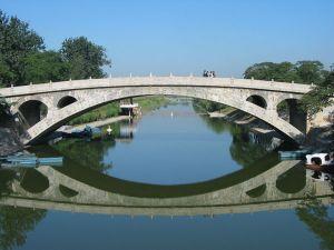 敞肩型石拱桥